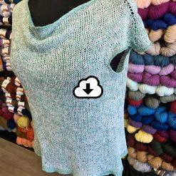 Patron de tricot chandail Linen T