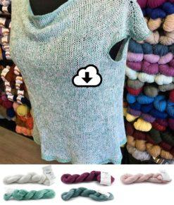 Kit prêt à tricoter - Chandail Linen T