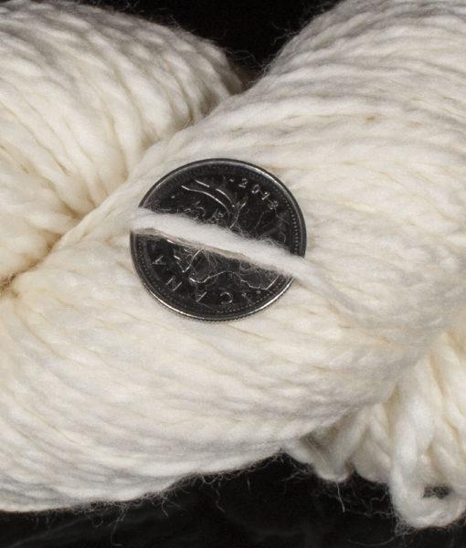 Laine à teindre - Bulky - Mérino superwash, Nylon - 158 - Artigina