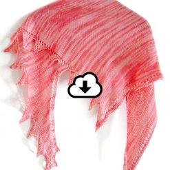 Patron de tricot - Châle (vent frais) - Andrée-Anne Marceau