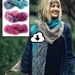 Kit prêt à tricoter - Châle - Free Your Fade