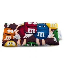 Portefeuille pour femme - Chocolat M&M'S - fait main Artigina