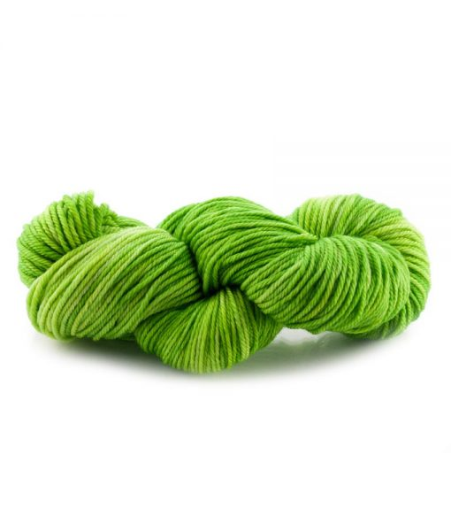 Laine teinte à la main (fingering) - Asela Bijou vert - Artigina