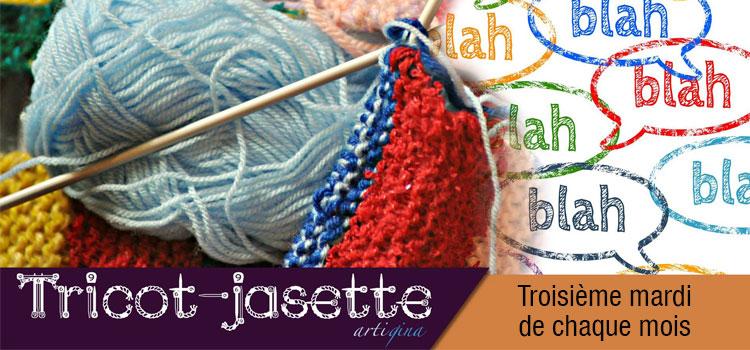 Tricot-jasette organisé par Artigina