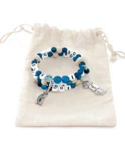 Bracelet compte rangs – fait main – Artigina