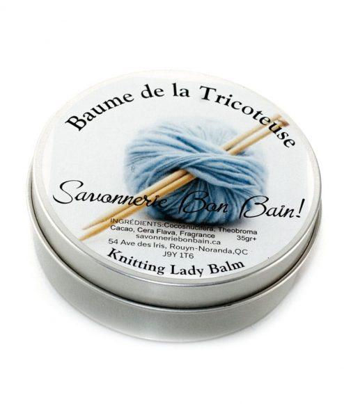 Baume hydratant - Le baume de la tricoteuse (mains sèches)