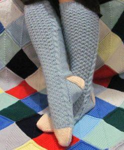 Patron de tricot - Bas frimas - L'univers d'une tricoteuse