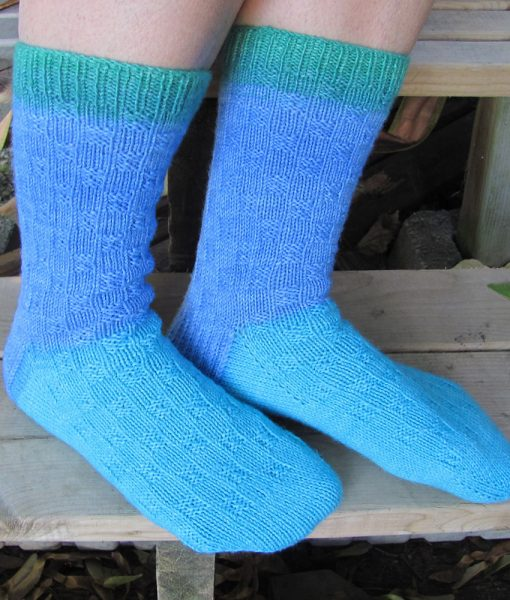 Patron de tricot - Bas toi et moi - L'univers d'une tricoteuse