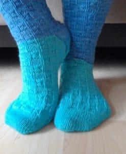 Patron de tricot – Bas toi et moi – L'univers d'une tricoteuse