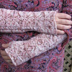 Patron de tricot - Gants Myosotis - L'univers d'une tricoteuse