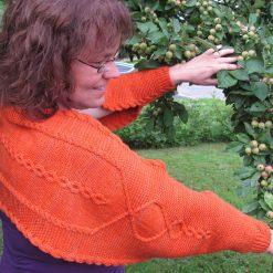 Patron de tricot - Liseuse d'automne - L'univers d'une tricoteuse