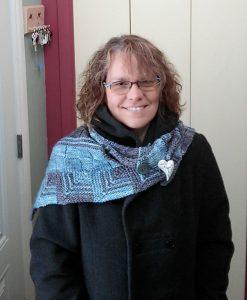 Patron de tricot - Châle Week-End - Artigina