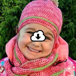 Twisted Fall - Patron de tricot pour tuque et foulard - Karine Larose de La rose du rang