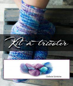Kit à tricoter Félix dans la galaxie - Artigina