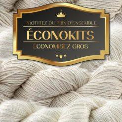 Ensemble de laine à teindre cachemire - Artigina