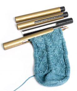 Tube de rangement pour aiguilles double pointes Knitter's Pride - Artigina