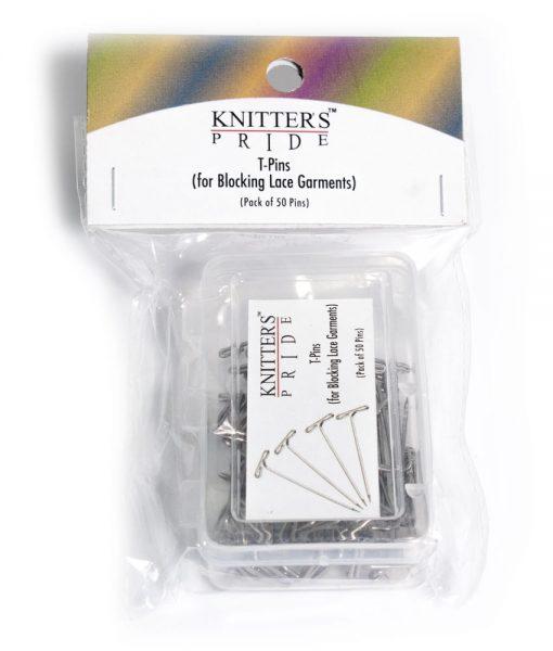 Épingles en T (T-pin) pour le blocage de tricot - Artigina