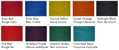 Charte de couleur Greener Shades - Artigina