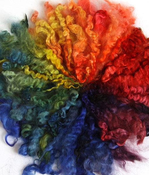 Exemple teintures à laine Ashford - Artigina
