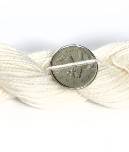 Laine à teindre (fingering) Mérino superwash, Nylon