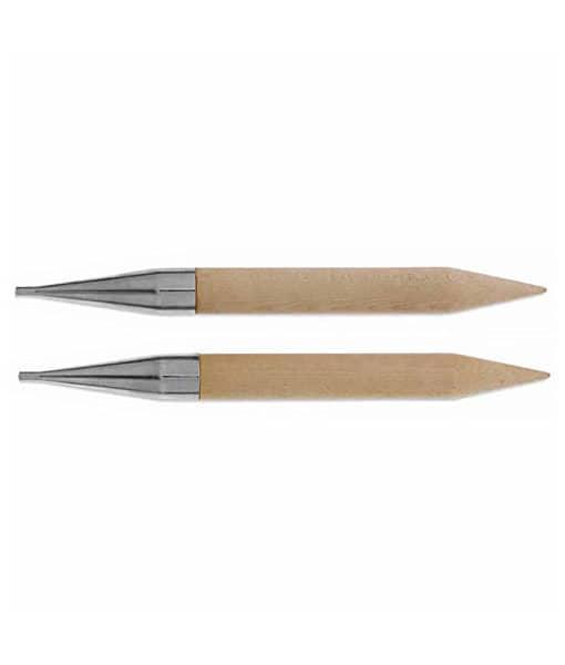 Aiguilles circulaires Knit Picks en bois de bouleau - 25 mm (US50)