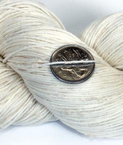 Laine à teindre - Fingering - Mérino Superwash, Coton, Acrylique NEP blancs