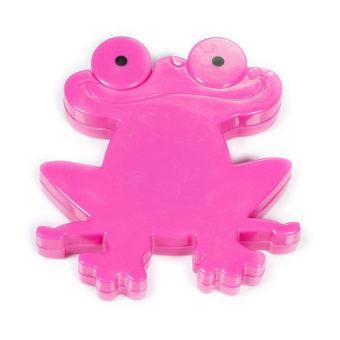 Ruban à mesurer rétractable grenouille (rose) - Artigina