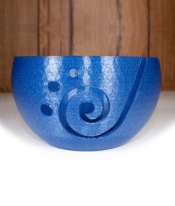 Bol à laine en impression 3D - Bleu métalique