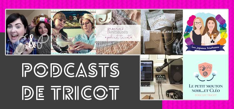 Liste de Podcast sur le tricot - Artigina