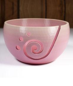 Bol à laine en impression 3D - Dégradé de rose