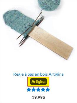 Exemple de produit Artigina