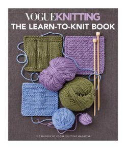 Livre - Vogue Knitting: The Learn-to-knit book
