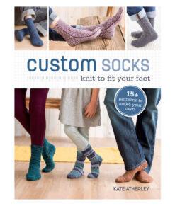 Livre - Custom Socks - Knit to Fit Your Feet