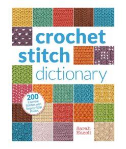 Livre - Crochet Stitch Dictionary