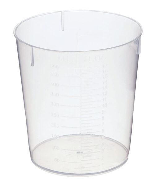 Gobelet mesureur pour la teinture (500 ml)